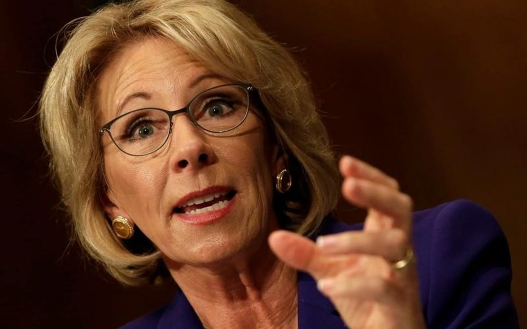 """""""What Will God Do with Betsy DeVos?"""""""