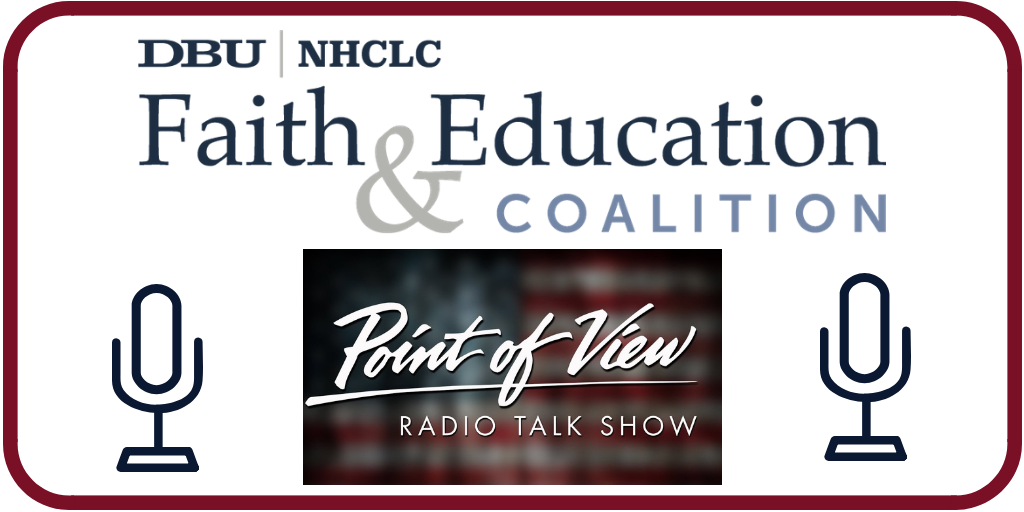 Interview, Rev. Girien Salazar on POV Radio Discusses RecentCollege Admissions Scandal and Education Equity
