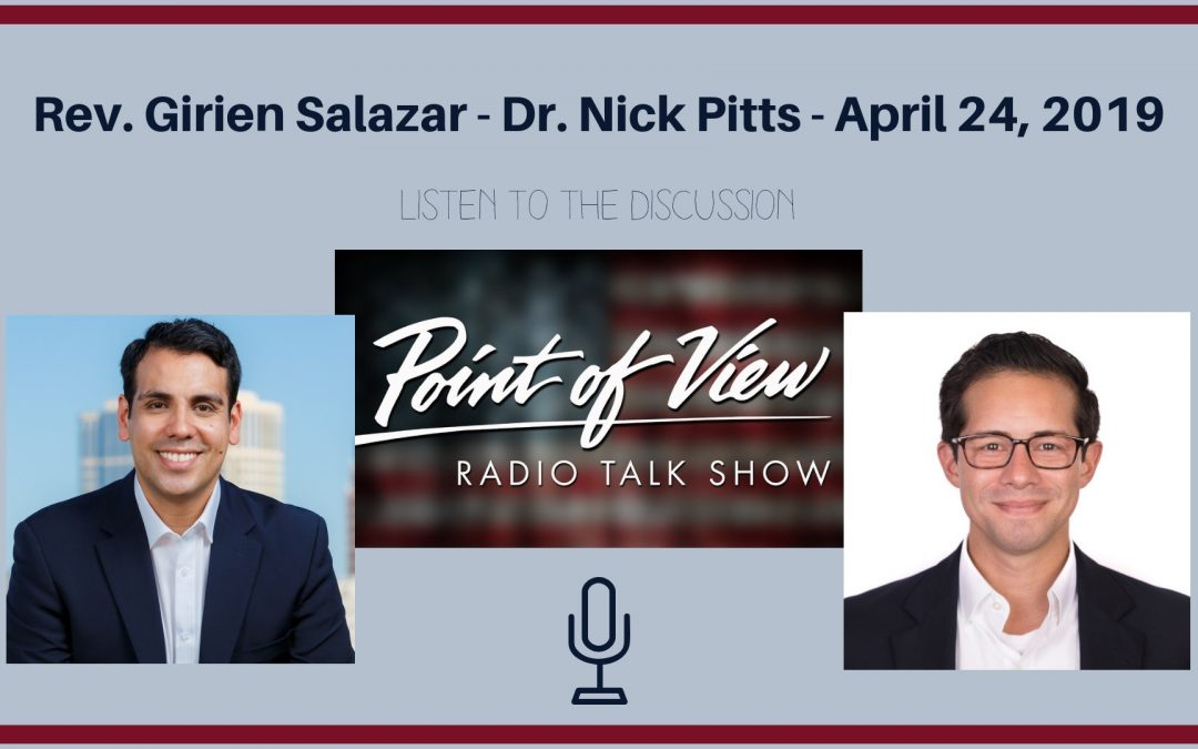 Radio Interview, Rev. Girien Salazar Discusses State Report Cards and College Loan Forgiveness