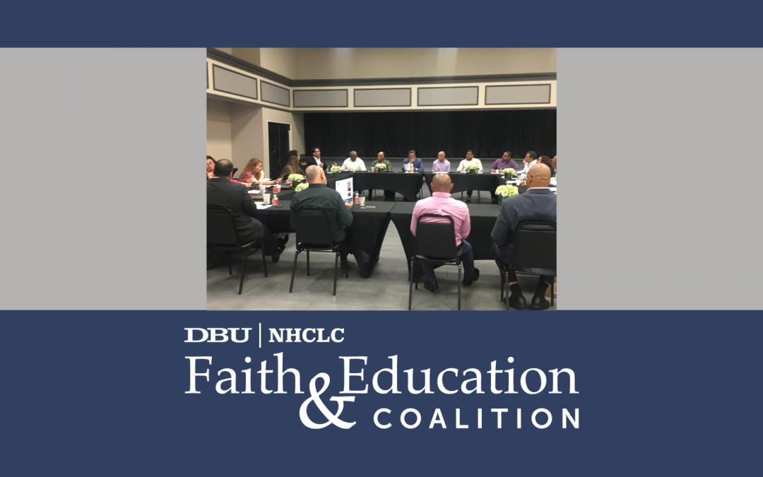 FE Coalition, DBU, Engage Hispanic Faith Leaders at NHCLC Board Meeting, Tampa, FL
