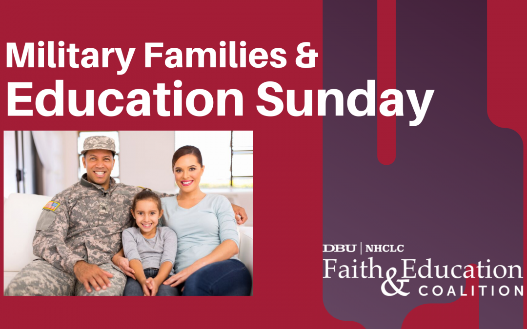 Military Families and Education Sunday