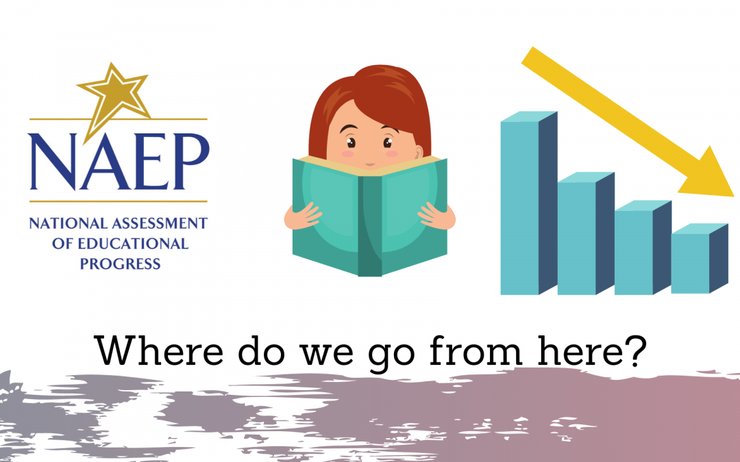 "NAEP shows reading scores are down in many states across the U.S.:  Let's begin by asking God, ""Where do we go from here?"""