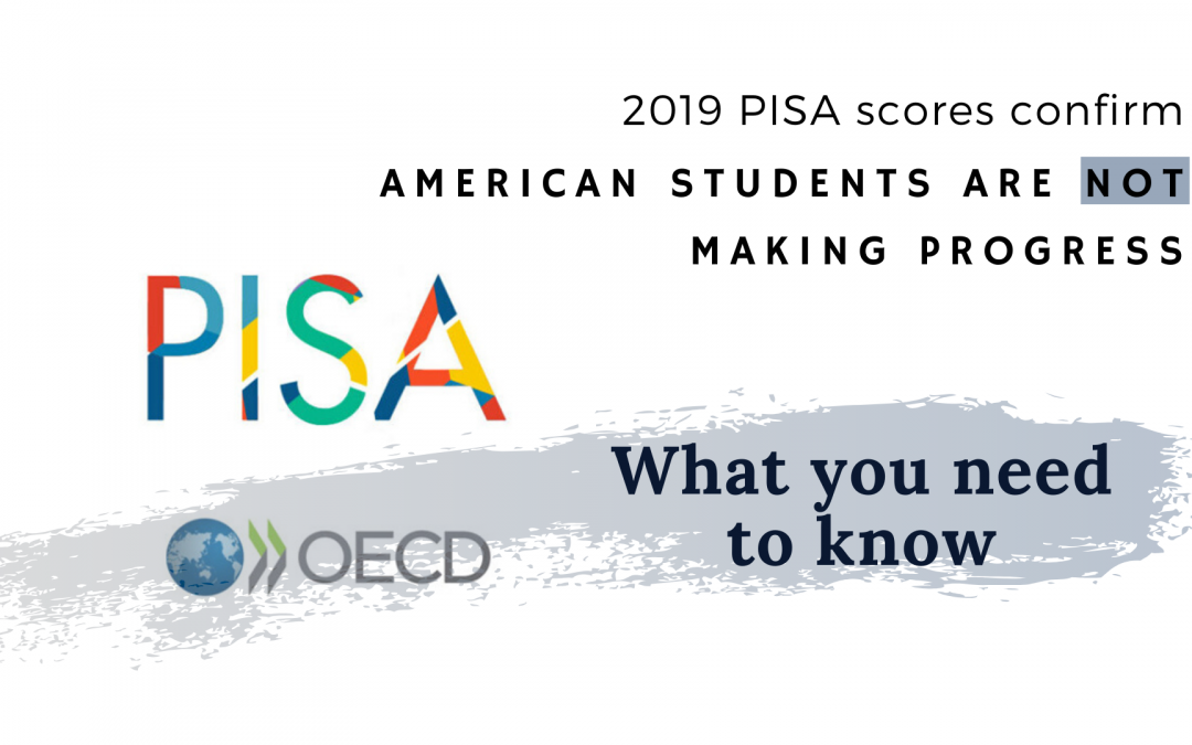 2019 PISA scores confirm American students are not making progress – What you need to know