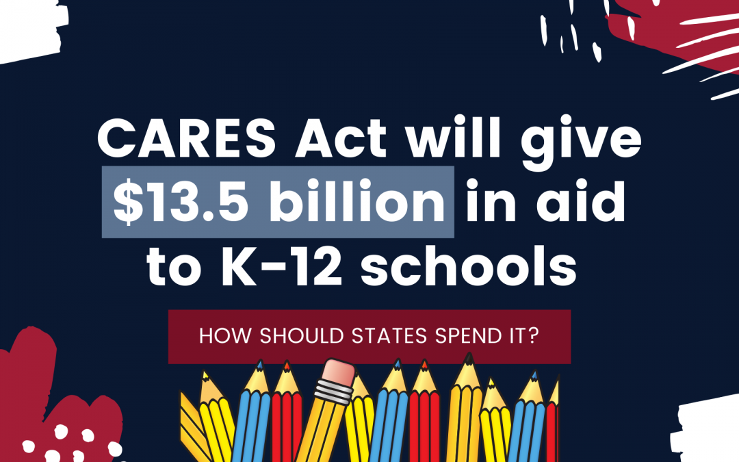 CARES Act will give $13.5 billion in aid to K-12 schools: How should states spend it?
