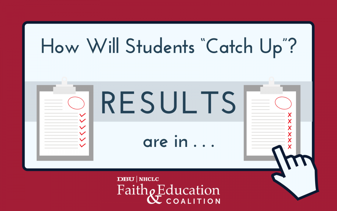 "How will students ""catch up""? RESULTS are in"
