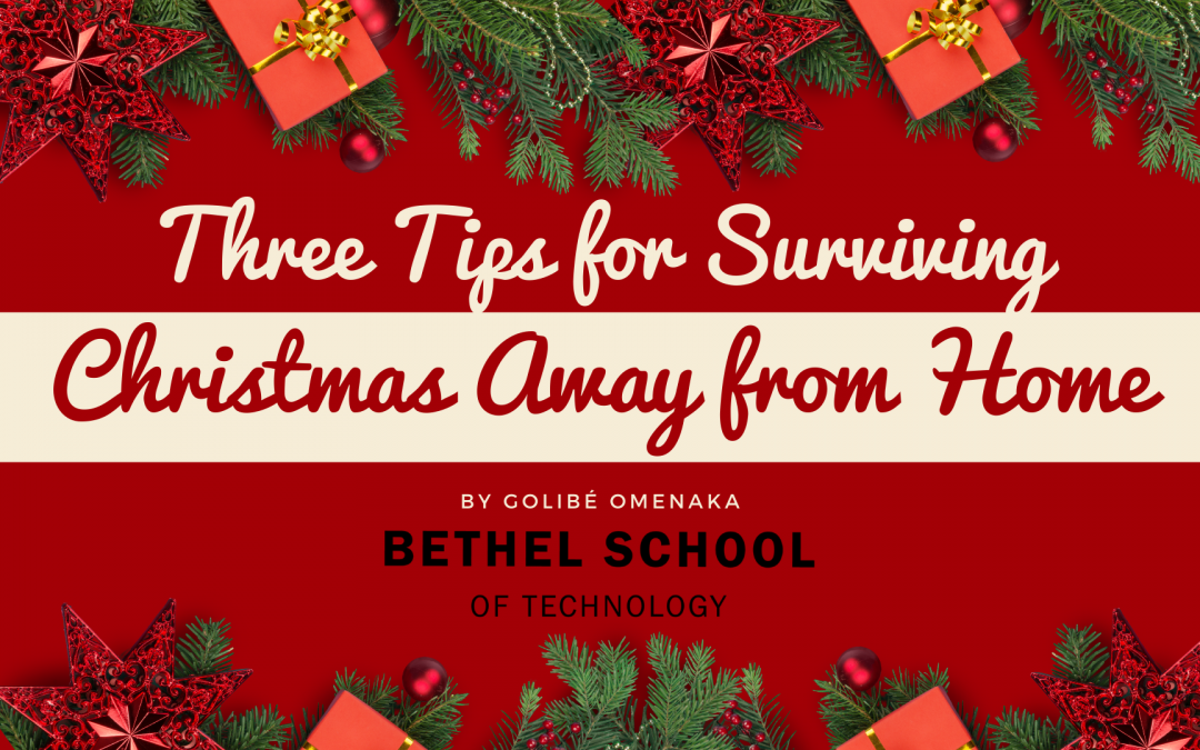 Three Tips for Surviving Christmas Away from Home
